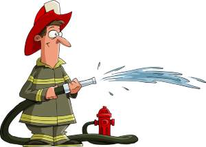 Keep sprinklers aimed away from your house